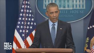 Watch President Obama's final news conference