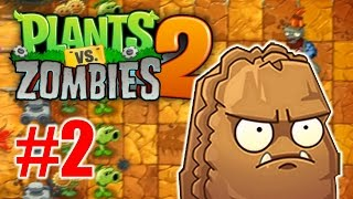 Plants vs Zombies 2: Its About Time -  Jurassic Marsh Walkthrough Part 2