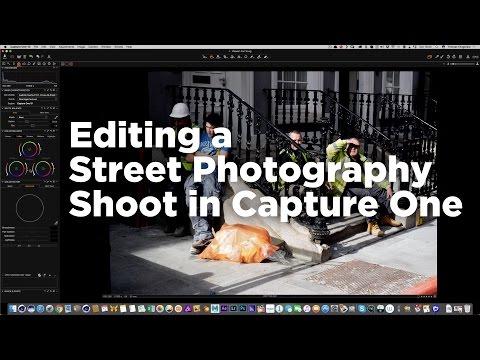 Watch me edit a Street Photography Shoot