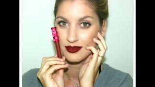 Οι επιλογές μου για φθινοπωρινά χείλη/ My top fall-winter lip combinations :) Thumbnail