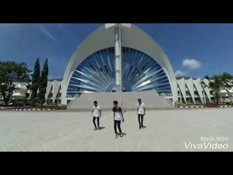 Ed sheeran- shape of you cover dance by lizard zentha Kupang NTT