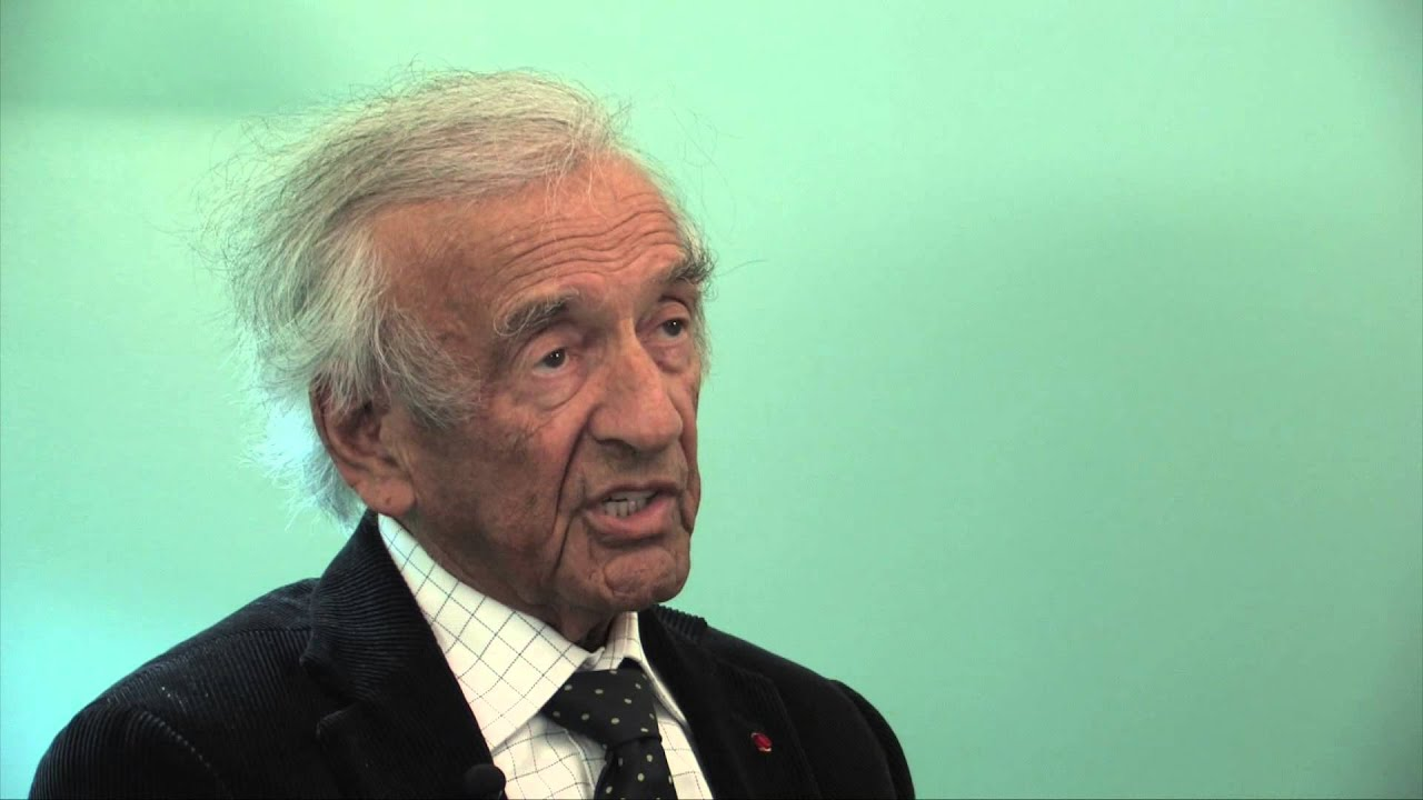 Elie Wiesel interview - YouTube