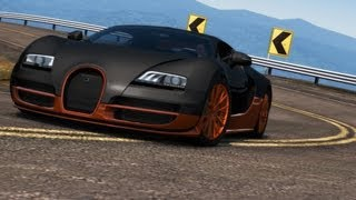Test Drive Unlimited 2 Bugatti Veyron SuperSport vs Koenigsegg CCXR 450KM/H HD !