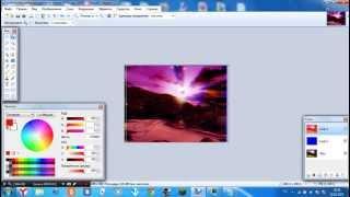 Как сделать 3D картинку в Paint net
