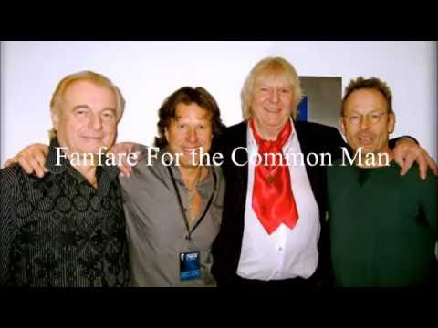 "Keith Emerson, Chris Squire, Alan White and Simon Kirke - ""Fanfare For the Common Man"""