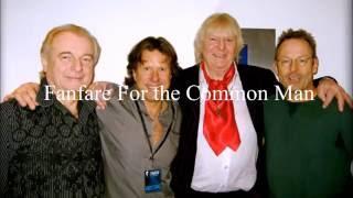 Keith Emerson, Chris Squire, Alan White and Simon Kirke -