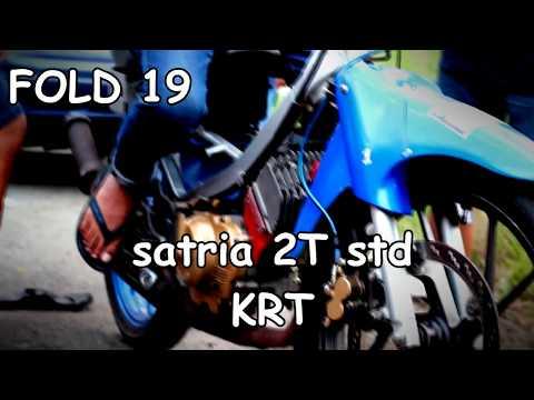 satria 2 tak with tjz speed exhaust doovi