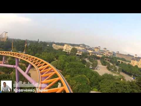 Best rollercoaster ever   Extreme 360° RollerCoaster at Seoul Grand Park