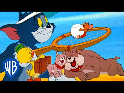 LIVE! BEST CLASSIC TOM & JERRY MOMENTS | WB KIDS