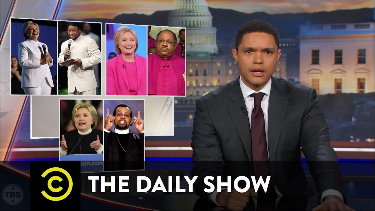 The Daily Show – Hillary Clinton Lives the Black Experience