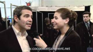 Talk with Coco! Chanel Omari interviews Andy Cohen at Fashion Week!