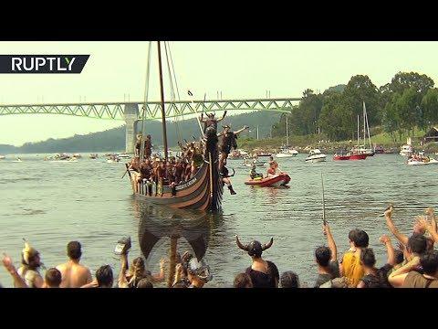 Испанское «путешествие во времени»: в Галисии реконструировали вторжение викингов