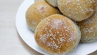 Вкусные булочки для гамбургеров - простой и быстрый рецепт