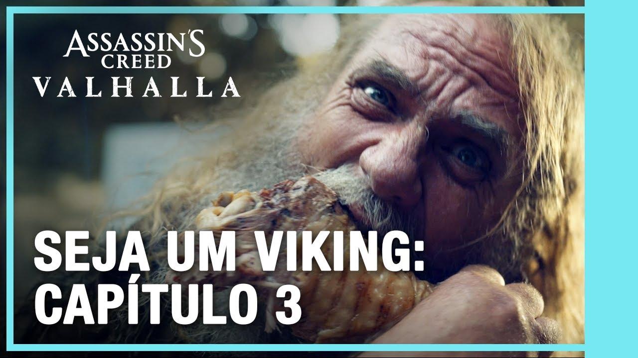 Assassin's Creed Valhalla: Seja um Viking - Capítulo 3: Mitologia e mais
