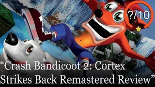 Crash Bandicoot 2: Cortex Strikes Back Remastered PS4 Review (Video Game Video Review)