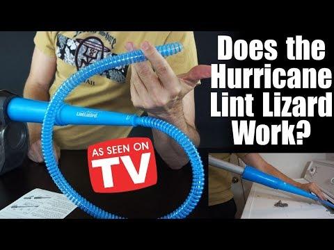 Hurricane Lint Lizard Review: Dryer Lint Cleaner *As Seen on TV*
