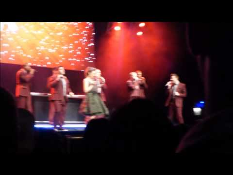 Straight No Chaser - Text Me Merry Xmas with Laura Osnes - Beacon Theatre 12-5-14