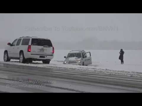 Great Bend, KS Snow Storm Winter Travel Headache 11/8/2018