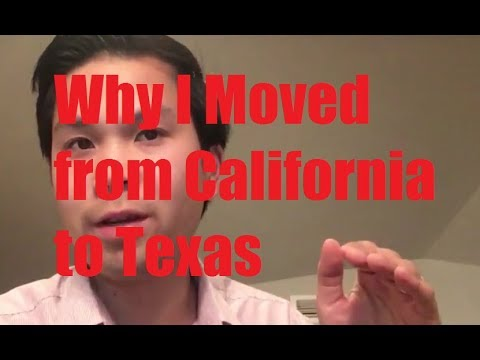 Why I Moved from California to Texas (Career, Family, Costs)