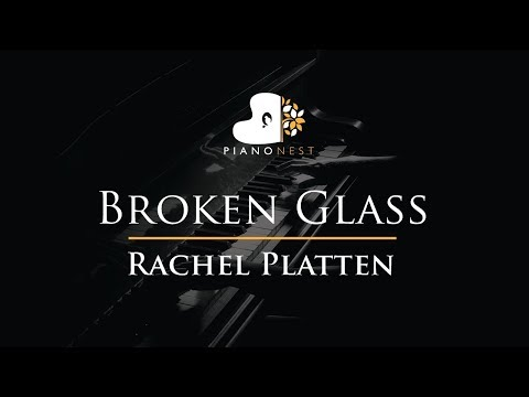 Rachel Platten - Broken Glass - Piano Karaoke / Sing Along / Cover With Lyrics