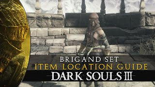 Dark Souls 3 - Brigand Armor Set & Twindaggers - Moveset & Location Guide