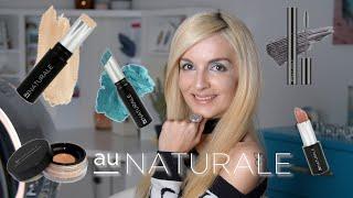 AU NATURALE Full Face Review & Demo (Zero Gravity Foundation, Bronzer, Vegan Mascara and more..!)