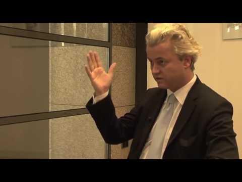 Harde confrontatie: Marokkaan interviewt Geert Wilders