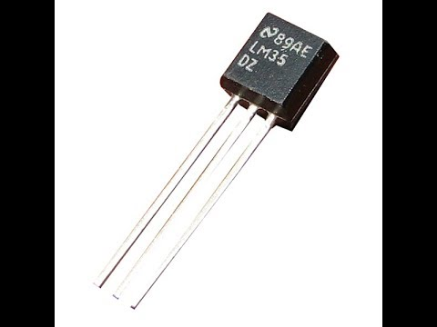 LM35 аналоговый датчик температуры Datasheet