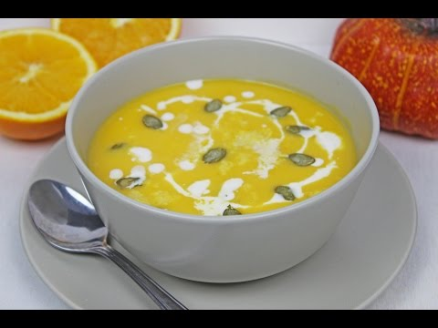 Pumpkin Orange Soup |  Recipe For Pumpkin Soup