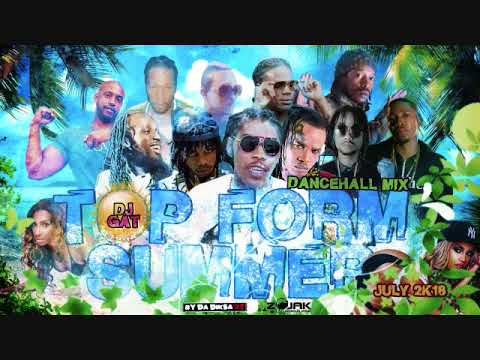 DANCEHALL MIX JULY 2018 DJ GAT TOP FORM SUMMER FT ALKALINE/VYBZ KARTEL/TOMMY LEE/DAPPA P 876899-5643