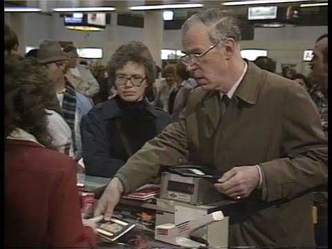 Vintage Gatwick Airport | Airport | London |Thames TV | 1980's