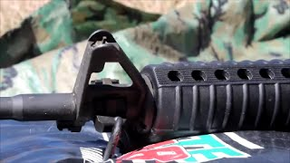 How To Zero Your AR-15 (Iron Sights)