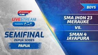 Jayapura Semifinal Honda DBL Papua Series 2019