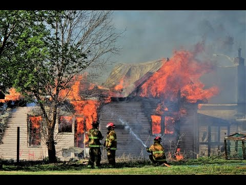 House Fire Home Burns To The Ground Superior Nebraska