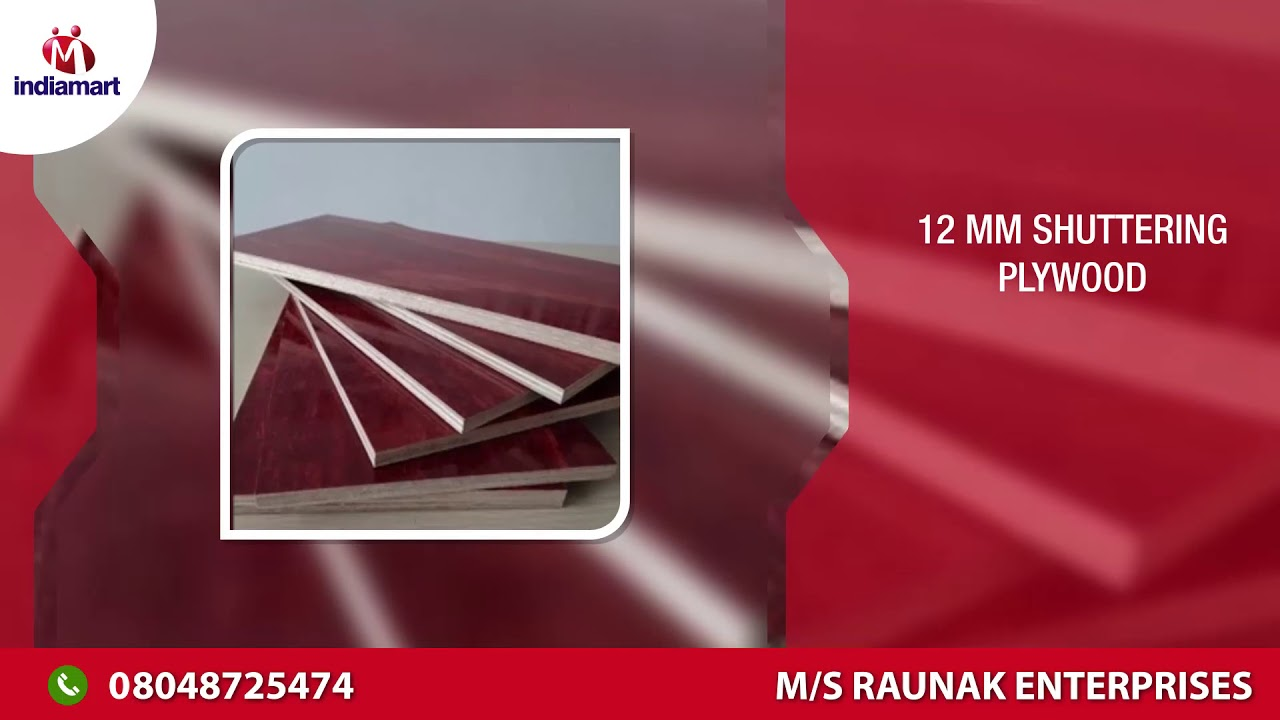 12 mm Commercial Plywood Board