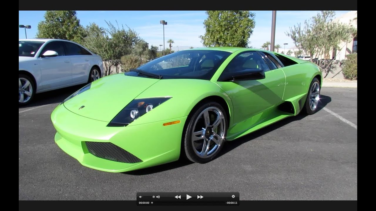 2008 Lamborghini Murcielago Lp640 Start Up Exhaust And In Depth