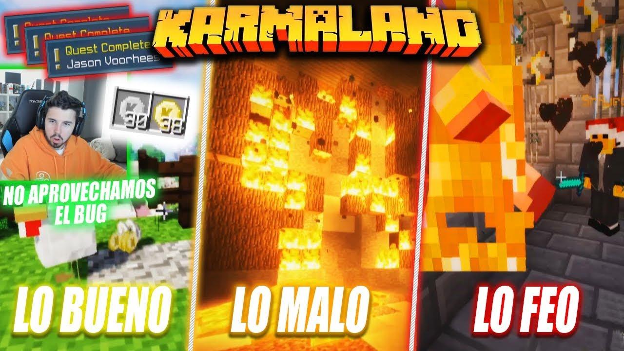 LO BUENO, LO MALO Y LO FEO DE WILLYREX EN KARMALAND 4 #2
