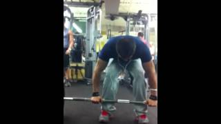 Young Boss Wab 500 pound Dead lift