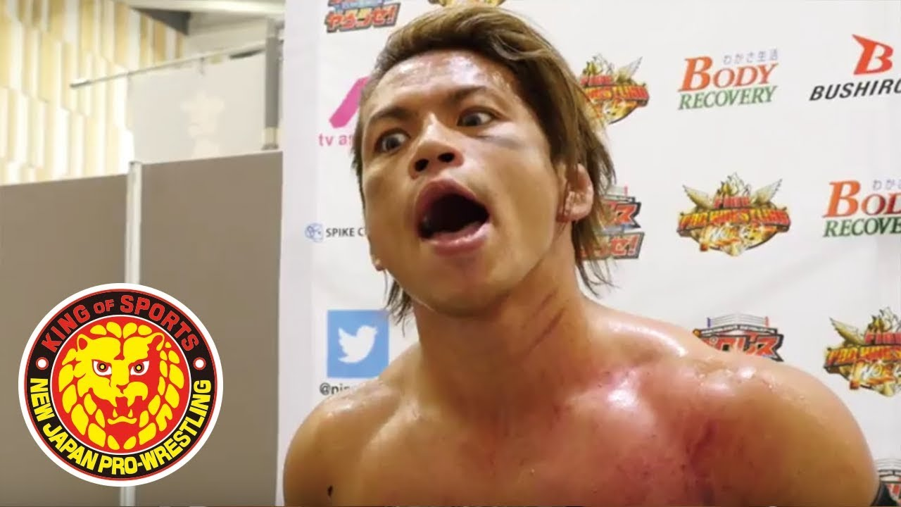 BEST OF THE SUPER Jr. 25  (May 20) - Post-match Interview [7th match]