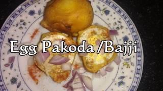 Egg Pakoda|Egg Bajji|Egg bonda| Egg Stuffed Pakoda ఎగ్ బజ్జి