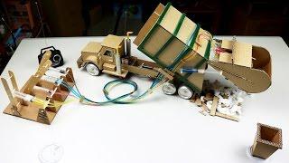 Amazing RC Garbage Truck DIY - Mini Gear Trailer Video