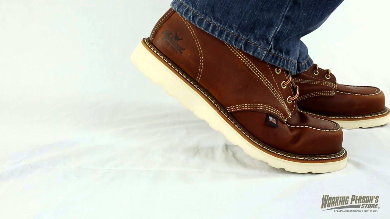 7135ff879cf Thorogood Boots: Men's 814-4201 American Heritage 8 Inch Moc Toe Boots