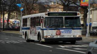 MTA New York City Bus 1996 Orion V 677 [ Audio Recording ]