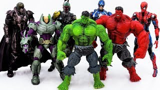 Video Power Rangers & Marvel Avengers Toys Pretend Play | Hulk Rescue Superhero Defeat Villains Army download MP3, 3GP, MP4, WEBM, AVI, FLV September 2018