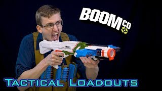 TACTICAL NERF LOADOUTS | BoomCo Edition!