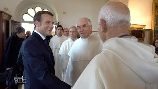 École Biblique of Jerusalem: the visit of the French President