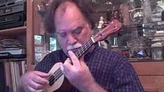 Bach Prelude: John King ukulele