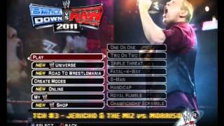 Smackdown vs Raw 2011 Menu Music