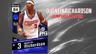 NBA 2k17 | How To Get Quentin Richardson's Jumpshot For MyCareer | Jumpshot Creations