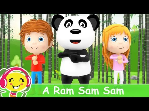 A Ram Sam Sam | Cantec pentru copii + karaoke